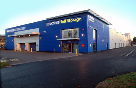Our Access Self Storage aldershot facility