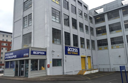 Our Access Self Storage Leamington spa facility