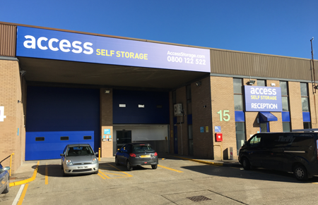 Our Access Self Storage Farnborough facility