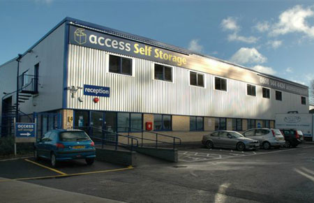 Our Access Self Storage richmond facility
