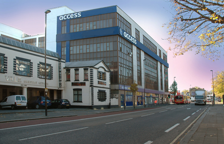 Our Access Self Storage Shepherds Bush facility
