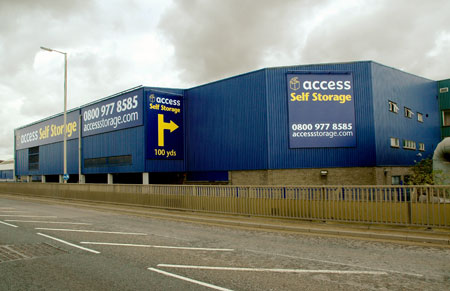 Our Access Self Storage tottenham facility