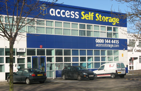 Our Access Self Storage sidcup facility