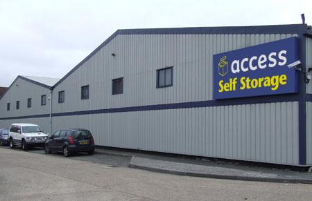 Our Access Self Storage Harrow facility