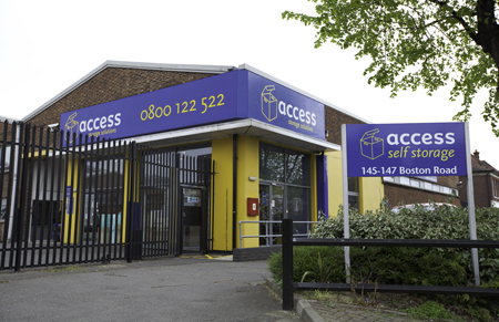 Our Access Self Storage Hanwell facility