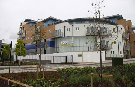 Our Access Self Storage Croydon Purley Way facility