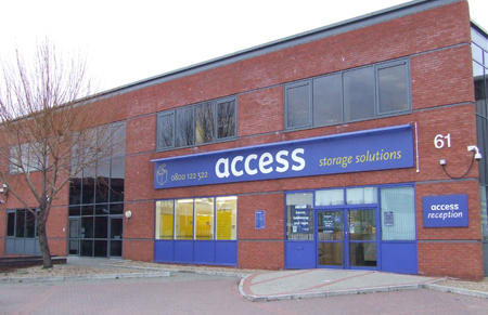 Our Access Self Storage Tower Bridge facility