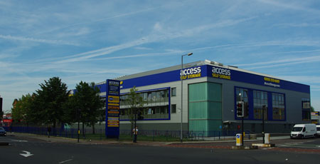 Our Access Self Storage catford facility