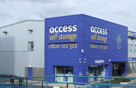 Our Access Self Storage chertsey facility