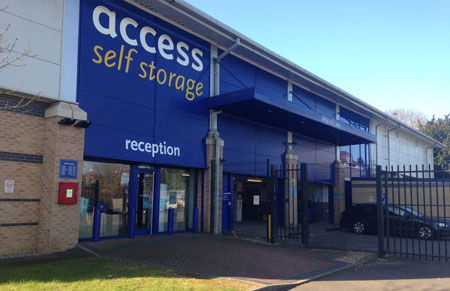 Our Access Self Storage Wellingborough facility