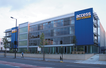 Our Access Self Storage clapham north facility