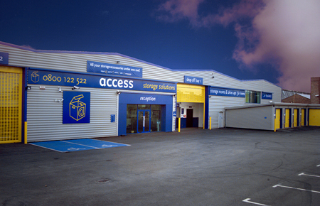 Access self storage location secure storage units in Barking