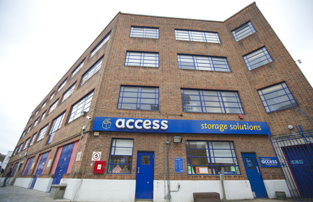 Access self storage location secure storage units in Fulham