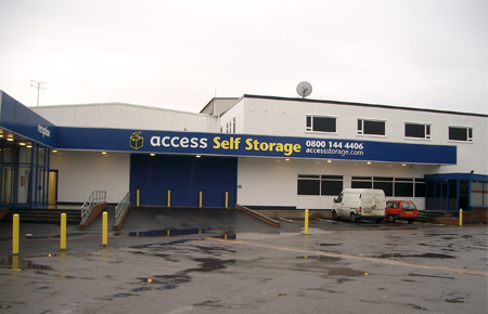 Access self storage location secure storage units in Hornsey