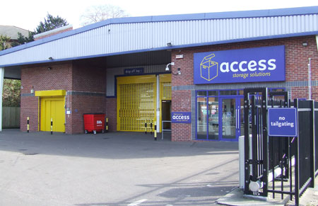 Access self storage location secure storage units in Kingston