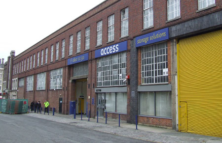 Access self storage location secure storage units in Kings Cross