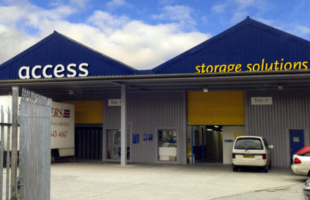 Access self storage location secure storage units in Sutton