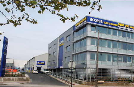 Access self storage location secure storage units in Woolwich