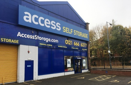Our Access Self Storage Birmingham facility