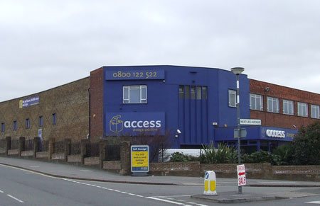 Access self storage location secure storage units in Hayes