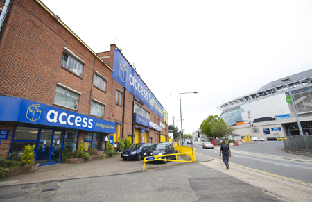 Our Access Self Storage Wembley facility