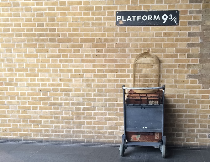 Left Luggage at Kings Cross